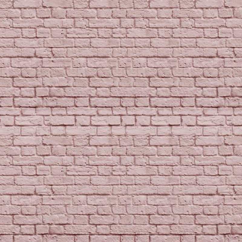 Mural Dusty Pink - Soft Bricks