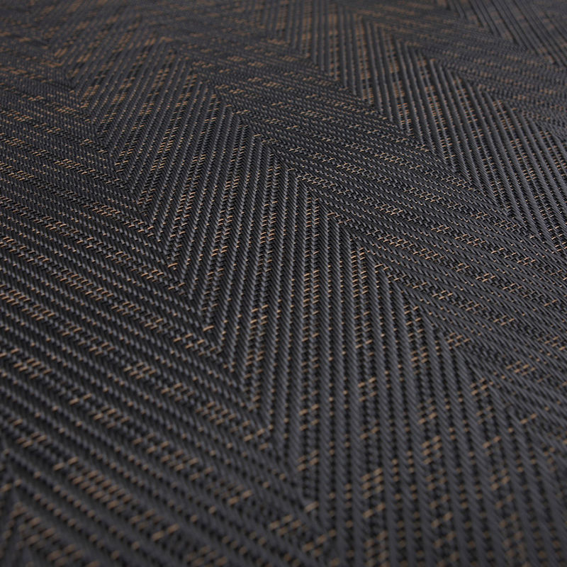Bolon Graphic Herringbone Black Bolon