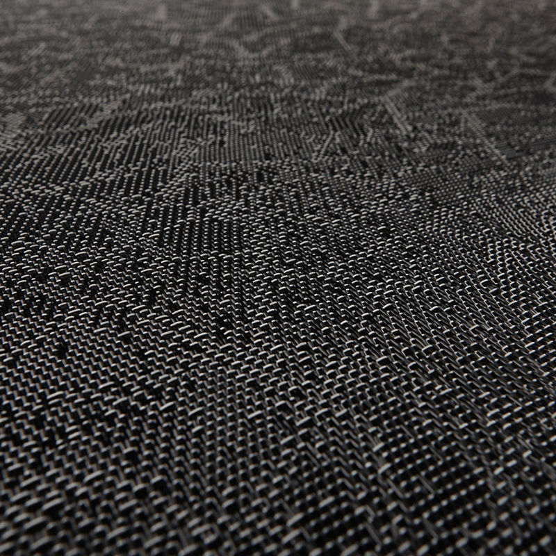 Bolon Graphic Texture Black Bolon