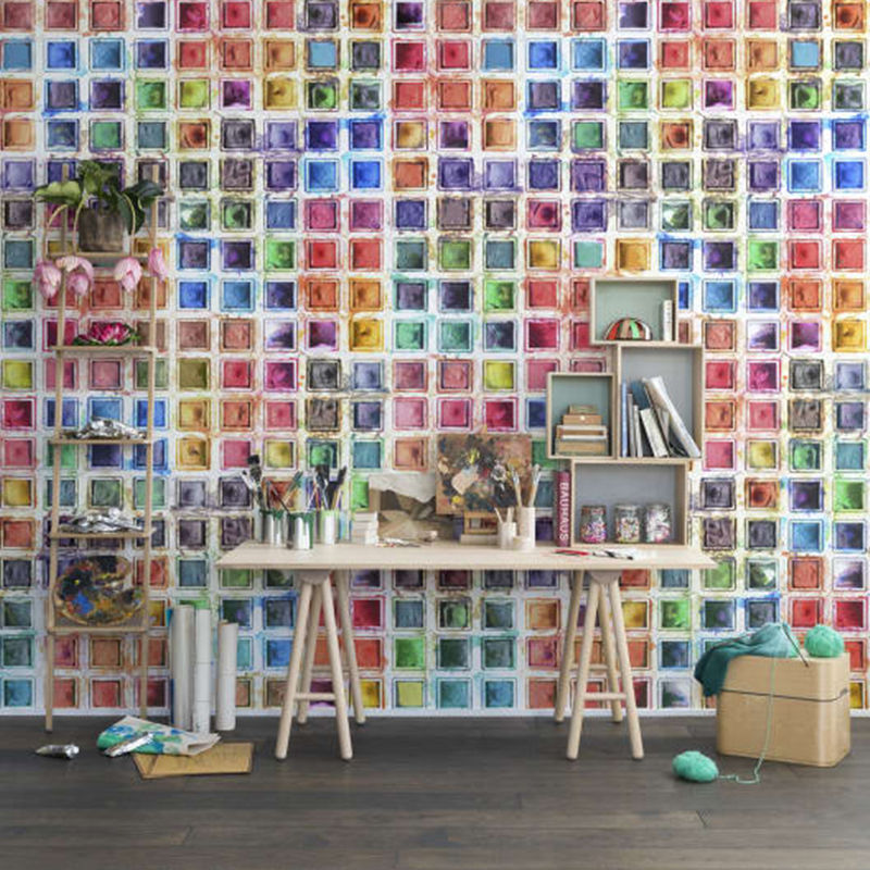 Mural Passion - Rainbow Palette Rebel Walls