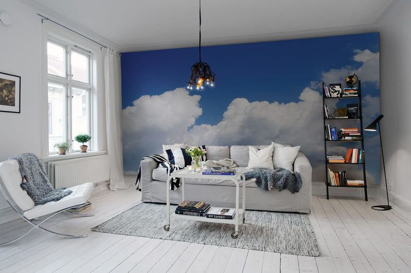 Mural Cielo - Happy Cloud Rebel Walls